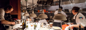 EaterWire: Hog Butchery at Google; Tosca's Meatballs
