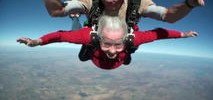 Grandma Skydives for 90th Birthday