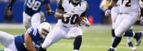 Zac Stacy injury update: Rams running back limited at Thursday practice