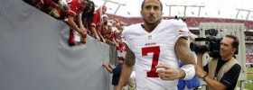 Colin Kaepernick talks about growing up a Packers fan as Candlestick comes to close
