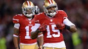 Crabtree a Catalyst for 49ers in Victory over Falcons