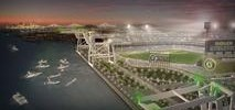 New A's Stadium Rendering Surfaces