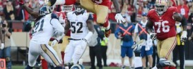 Rams fake punt flub, Vernon Davis leapfrog touchdown turned the tide for good