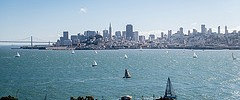 Sailing day in San Francisco Bay