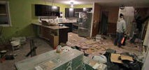 Sandy Home Vandalized