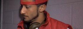 Colin Kaepernick helps young fashion designer with his post-Panthers game wardrobe