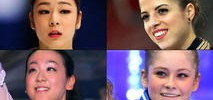 US Women's Top Rival Figure Skaters
