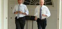 Obama, Biden Workout Together