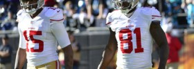 49ers' wide receiver position can go many different ways in next couple years