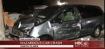 Driver Loses Control And Slams Into Gas Meter