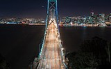 TIME TRAVEL:Willie Lewis Brown Jr. bay bridge
