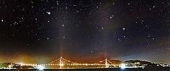 Golden Gate Bridge Astrophotography California San Francisco