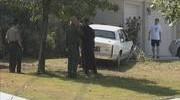 Car Crashes into South Bay Front Yard; Manhunt Ensues