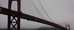 Golden Gate in the Morning Mist