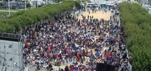 SF Hosts World Cup Viewing Party in Civic Center Plaza