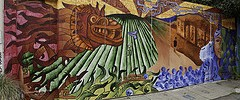 The Chicano Art-Inspired Murals of Balmy Alley
