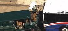 2 Dead, 6 Injured in Crash Between SamTrans Bus, Van