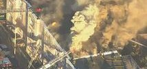 9-Alarm Fire Rages in Boston