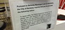 Berkeley's Cell Phone Radiation Warning Ordinance Now in Effect
