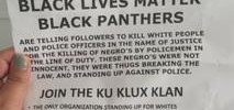 Fliers Promoting KKK Surface in SF Neighborhood