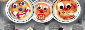 IHOP Scary Face Pancakes - FREE for Kids 10/31