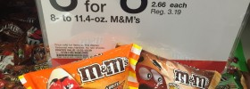 Target: M&Ms Boo-tterscotch and Candy Corn 8oz Bags $1.36 Each