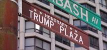 Trump Street Sign Stolen in Chicago
