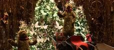 Christmas trees and bears!