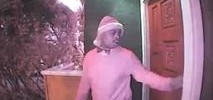 Man in Santa Hat Caught on Camera Burglarizing SF Home