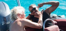 Barack Obama Tries Kitesurfing on Vacation in Virgin Islands
