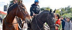 mounted Park Police, opening, Presidio Visitor Center