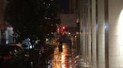 Sutter Street in the rain