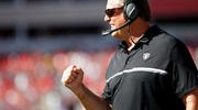 """Del Rio Says Raiders Are """"Just Getting Started"""""""