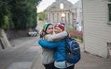 Mother and Daughter - Alcatraz - San Francisco