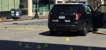 Motorcycle, Police Cruiser Collide in Oakland