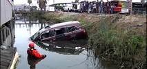 Stolen Minivan Pulled from Water Surrounding East Bay Marina