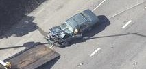 Vallejo Police Pursuit Ends in Three-Car Crash on I-80