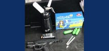 Armed Woman Inhales Nitrous Oxide in Front of Police