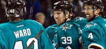 Couture Playing Through Pain, Giving Sharks Emotional Lift