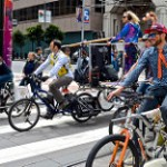 Earth Day, March for Science, bikes for DJ,