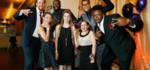 NFL Stars Flash Dance Moves at Children's Hospital Proms