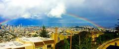 Rainbow from Twin Peaks, San Francisco