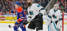 Sharks to Face McLellan, Oilers in First Round of Playoffs