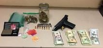 Teen on Felony Probation Found with Pistol, Drugs, Cash