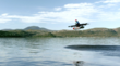 Video: Personal Flying 'Car' Kitty Hawk Soars/Hovers Over Clear Lake, CA