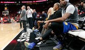 Warriors' Kevin Durant Will Play in Game 4 at Portland