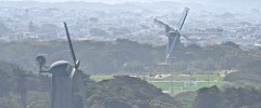 windmills, Golden Gate Park,