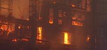 5-Alarm Fire Engulfs Building Under Construction in East Bay