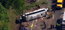 Bus Carrying 26 Kids on DC Field Trip Overturns in Md.