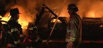 Flames Destroy Two-Story House in Sonoma